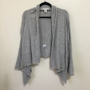 BANANA REPUBLIC drapey open front cardigan AV1